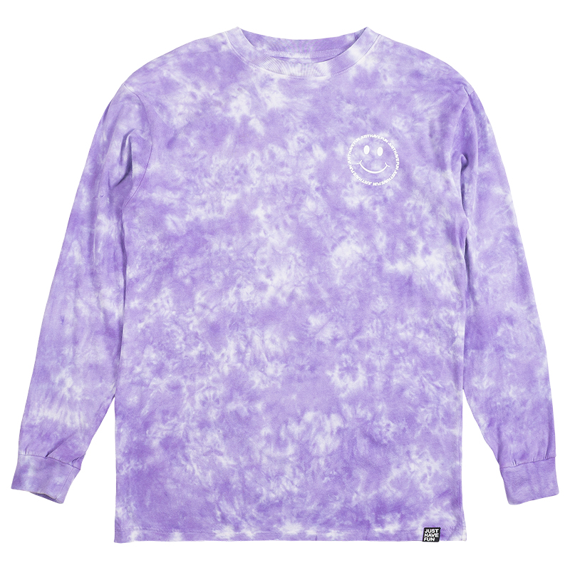JHF Have A Nice Day Longsleeve T-Shirt Tie-Dye