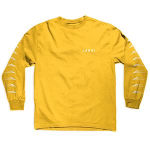Lakai Flared Longsleeve T-Shirt Gold