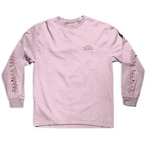 Lakai Porous Girls Longsleeve T-Shirt Pink