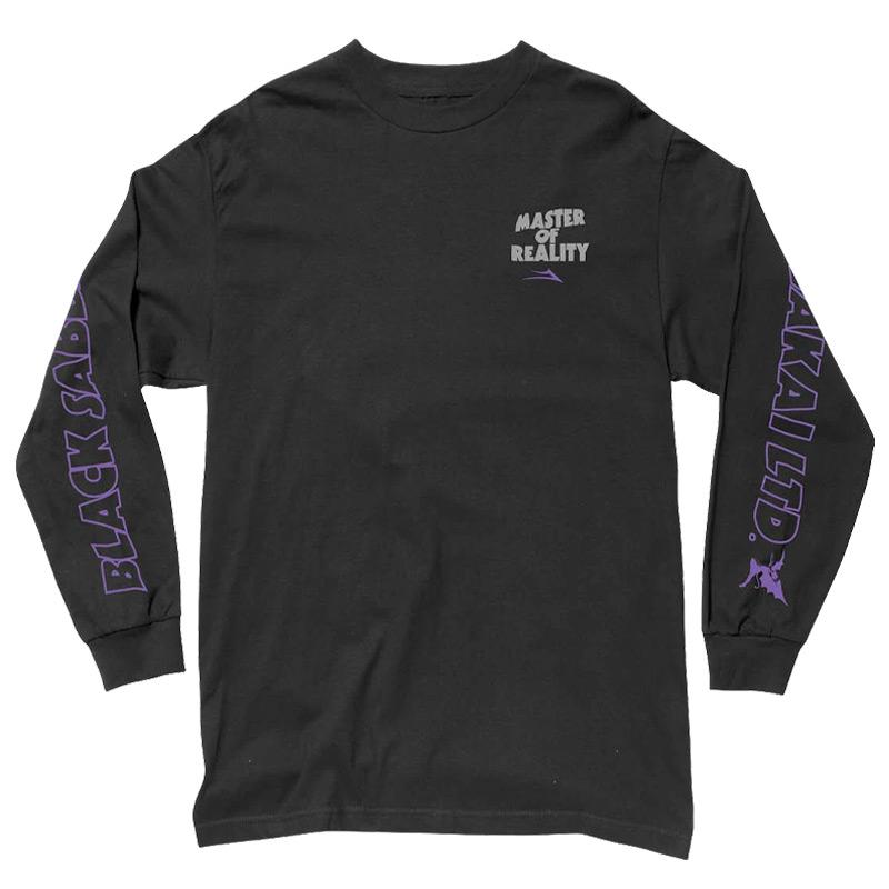 Lakai x Black Sabbath Master Of Reality Longsleeve T-Shirt Black