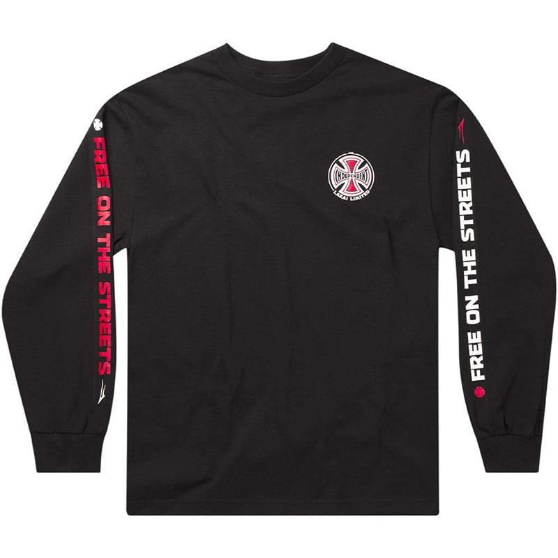 Lakai x Independent Indy Longsleeve T-Shirt Black