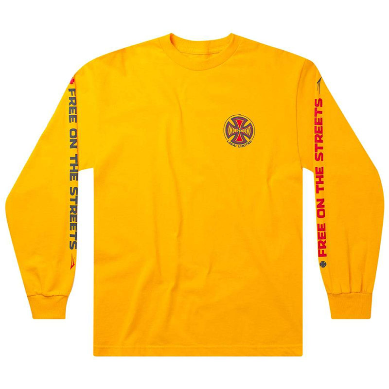 Lakai x Independent Indy Longsleeve T-Shirt Gold