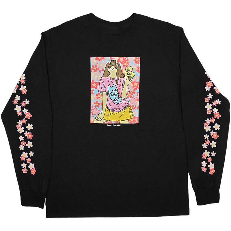 Leon Karssen Blossom Longsleeve T-Shirt Black