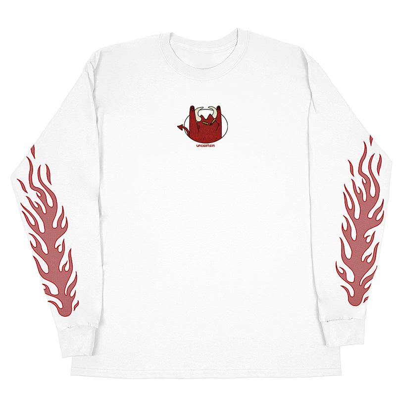 Leon Karssen Hellboi Longsleeve T-Shirt White