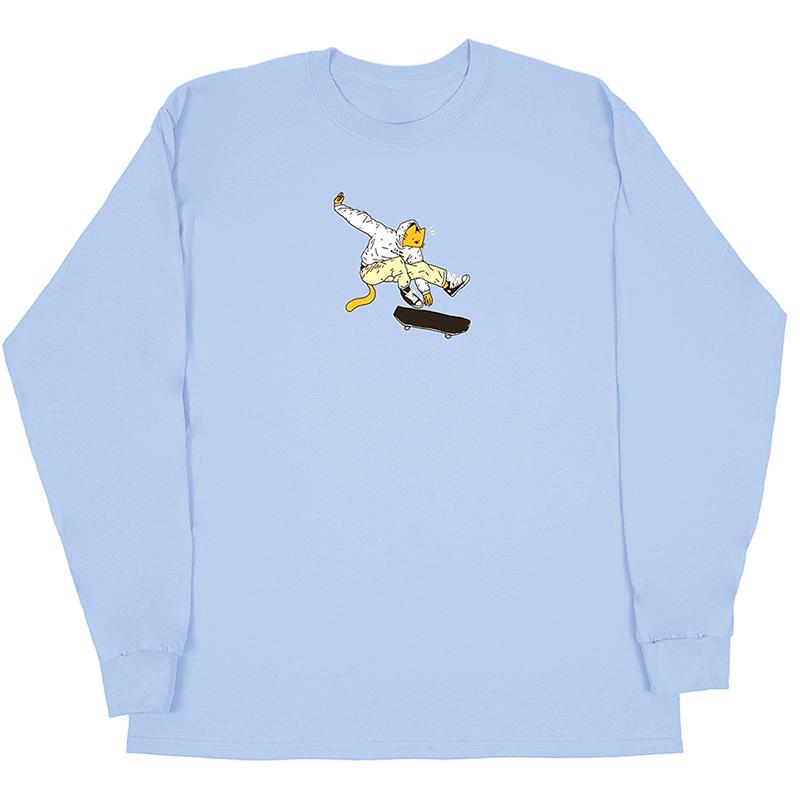Leon Karssen Kickflip Longsleeve T-Shirt Light Blue