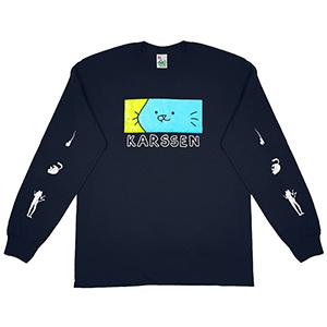Leon Karssen Lifeline Karssen Longsleeve T-Shirt Navy
