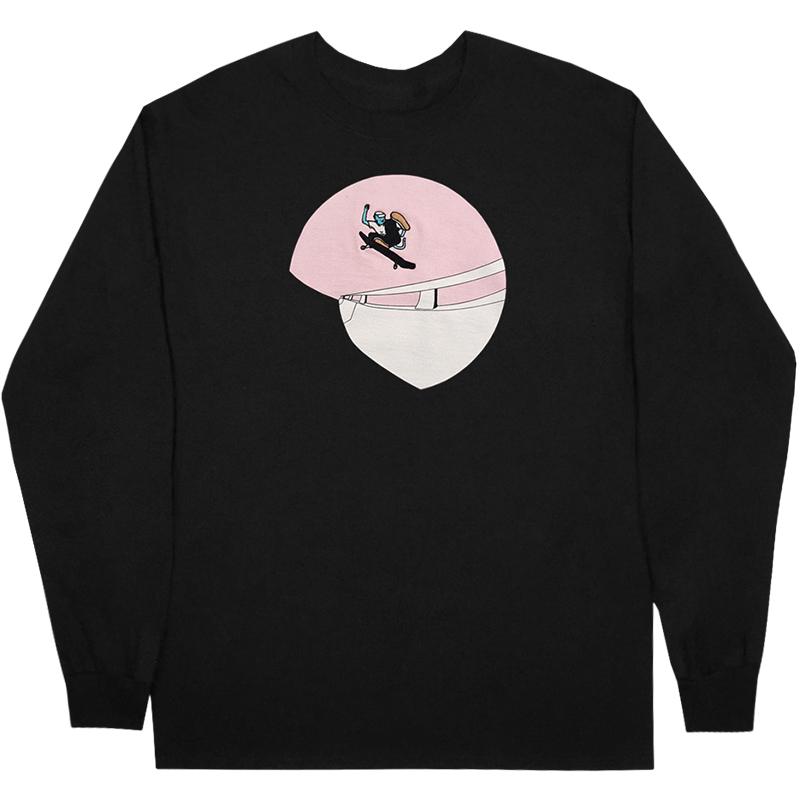 Leon Karssen Square Up Longsleeve T-Shirt Black