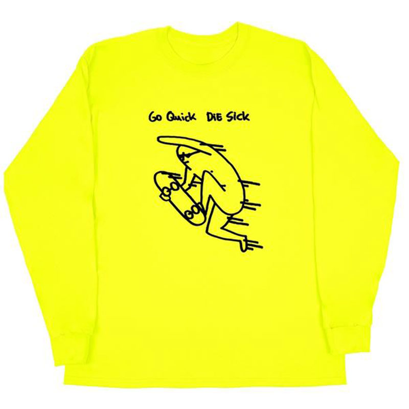 Leon Karsssen Quick Longsleeve T-Shirt Neon Yellow