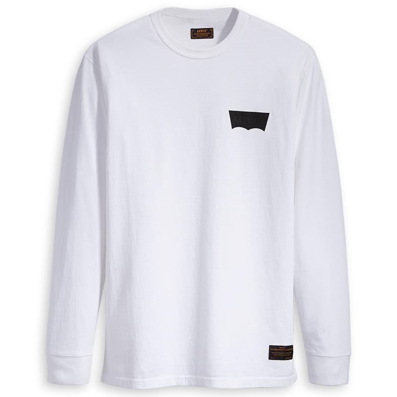 7b00f43085b3db Levi's Graphic Longsleeve T-Shirt White L - Skatestore.com