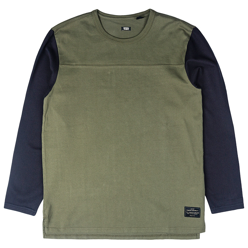Levi's Longsleeve Football Shirt Ivy Green