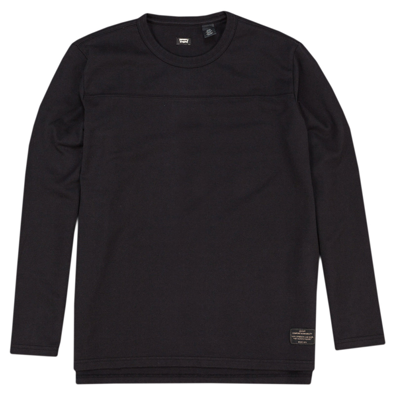 Levi's Longsleeve Football Shirt Jet Black