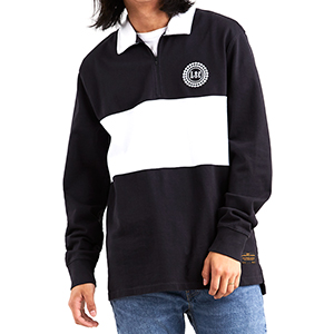 Levi´s Longsleeve Rugby T-Shirt Jet Black