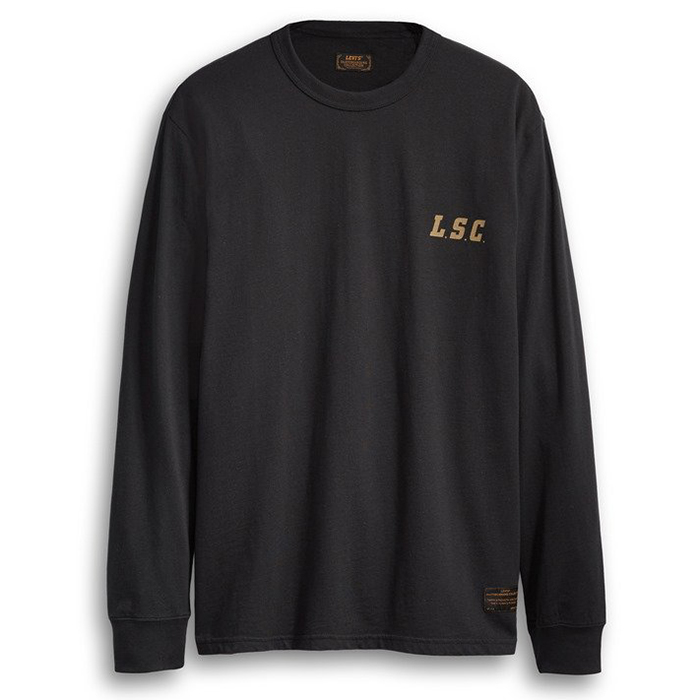 Levi's Graphic Longsleeve T-shirt LSC Team Graphic Tan