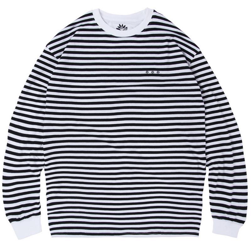 Magenta Marinière Longsleeve Shirt Dark Navy/White