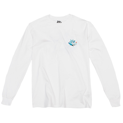 Magenta Miro Longsleeve T-shirt White