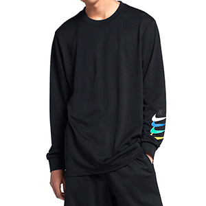 Nike SB Gfx Dry Longsleeve T-shirt Black/Black