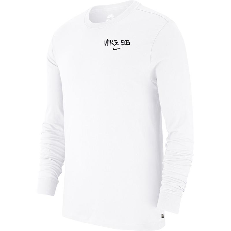 Nike SB Snake Longsleeve T-Shirt White/Black