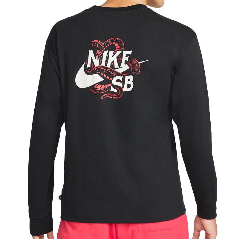 Nike SB Snakes Longsleeve T-Shirt Black