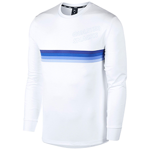 Nike SB X Quartersnacks Dry Longsleeve T-shirt White/Royal Pulse