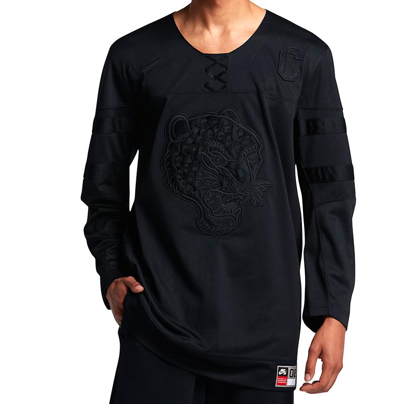 Nike SBM Nk Top Jersey Black/Black/Black
