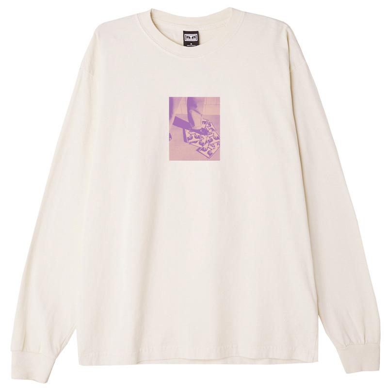 Obey Corporate Life Longsleeve T-Shirt Sago