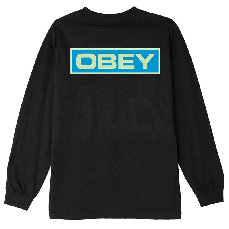 Obey Depot 2 Longsleeve T-Shirt Black