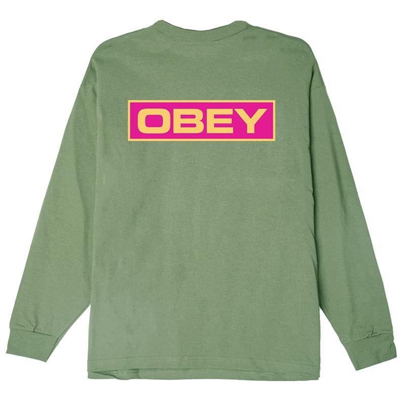 Obey Depot 2 Longsleeve T-Shirt Sage