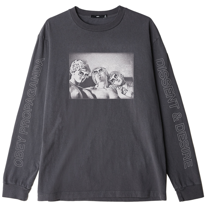 Obey Desire Longsleeve T-Shirt Dusty Black