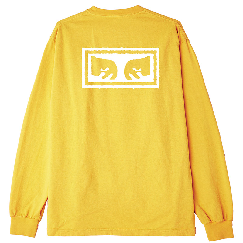 Obey Eyes 3 Longsleeve T-Shirt Gold
