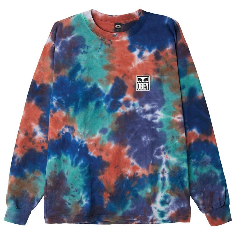 Obey Eyes Icon Longsleeve T-Shirt Iris Blotch