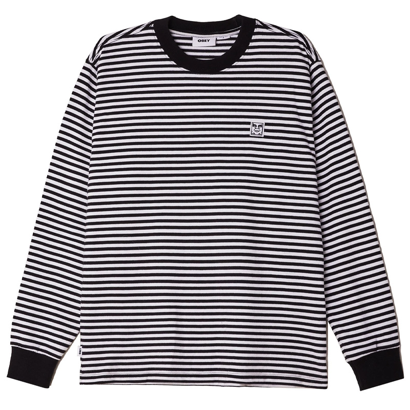 Obey Icon Legacy Longsleeve T-Shirt Black Multi