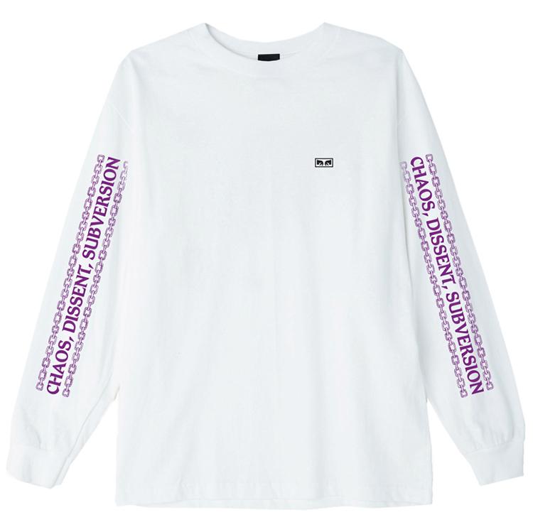 Obey Understanding Longsleeve T-Shirt White