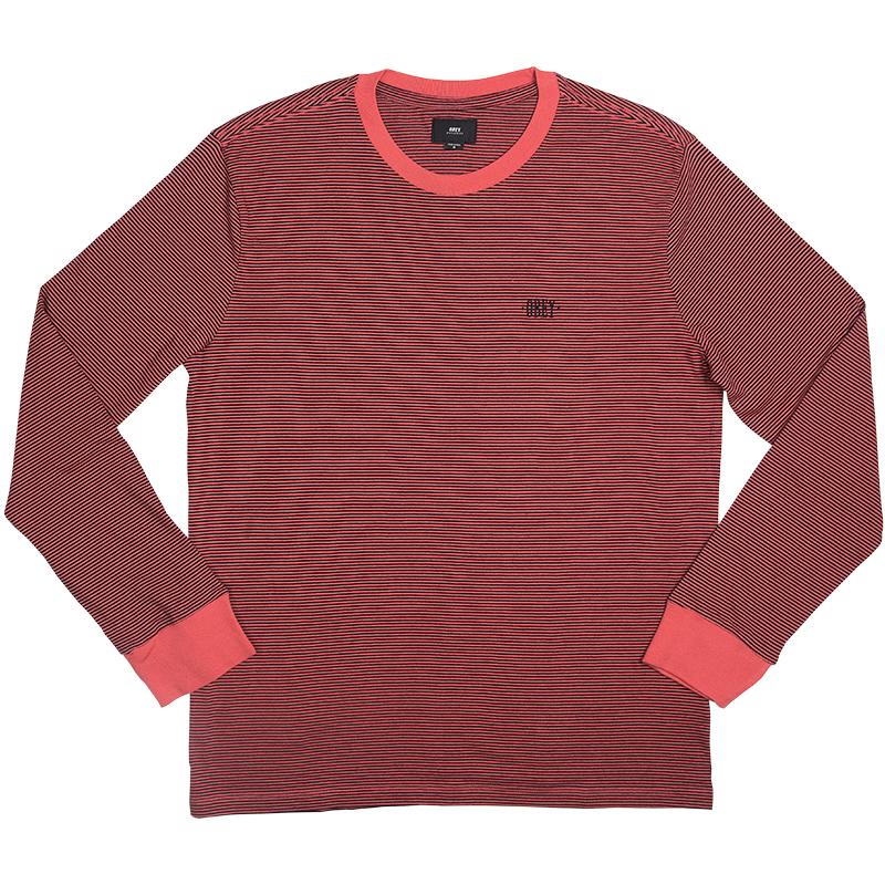 Obey Wisemaker Longsleeve T-shirt Rose Multi
