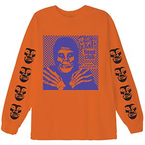 Obey X Misfits Fiend Club Hallow Longsleeve T-Shirt Orange