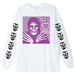 Obey X Misfits Fiend Club Hallow Longsleeve T-Shirt White
