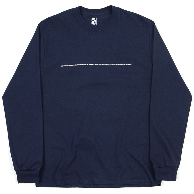 Poetic Longsleeve T-Shirt Navy