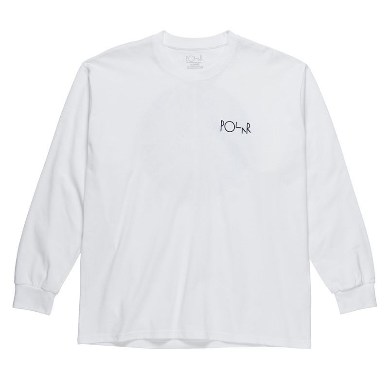 Polar 69 Fill Logo Longsleeve T-Shirt White