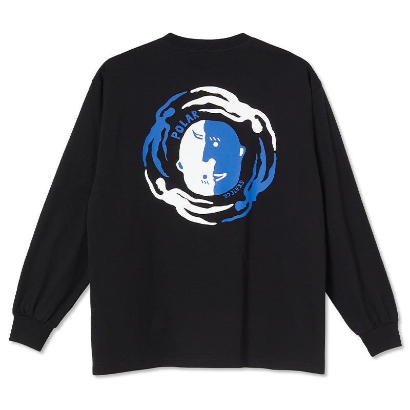 Polar Circle of Life Longsleeve T-Shirt Black