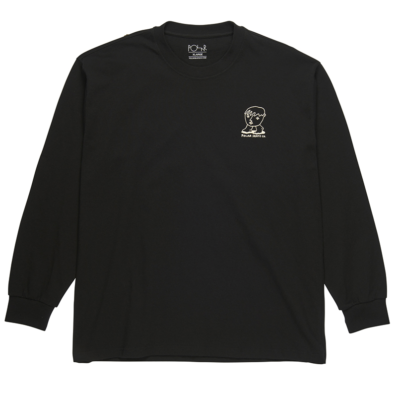 Polar Dirty Boys Longsleeve T-Shirt Black