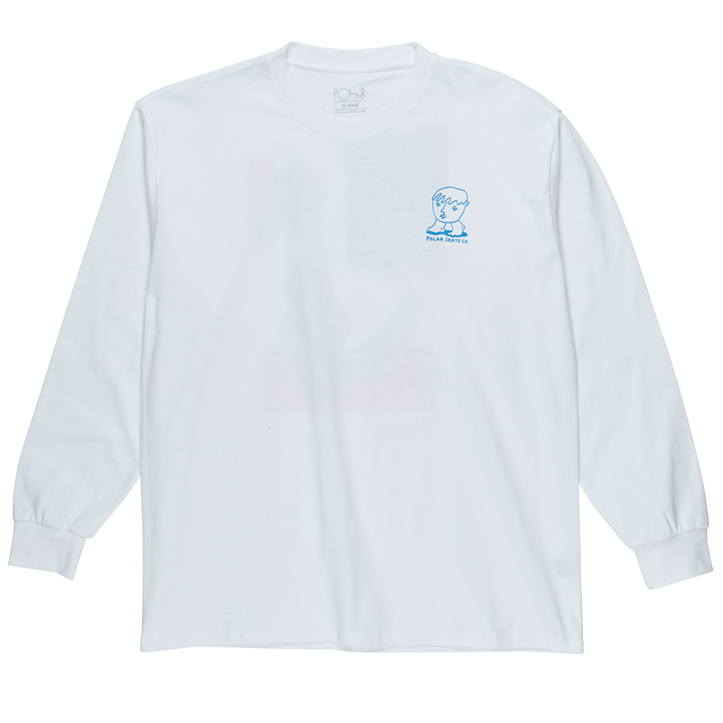 Polar Dirty Boys Longsleeve T-Shirt White