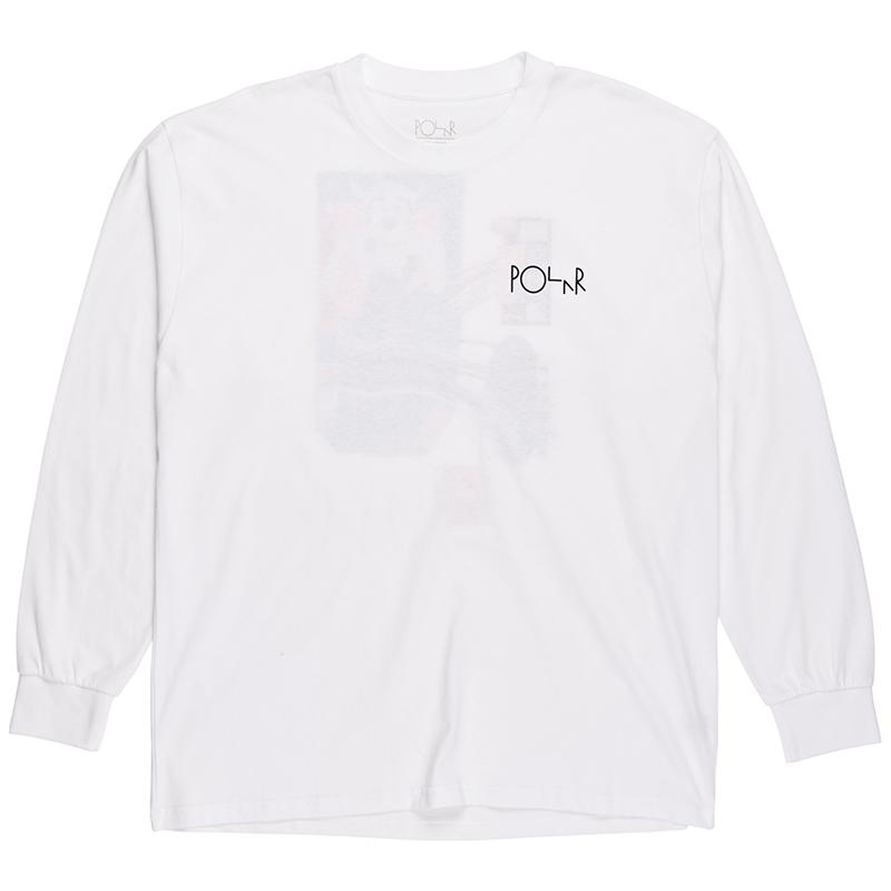 Polar Frequency Longsleeve T-Shirt White