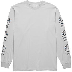 Polar Heads Longsleeve T-Shirt Ice Grey