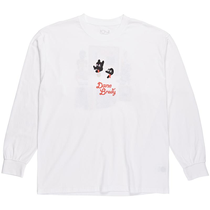 Polar Hypergamy Longsleeve T-Shirt White