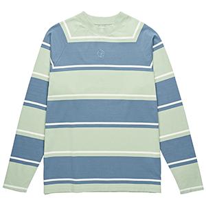 Polar Kurt Longsleeve T-Shirt Captains Blue/Frosty Green