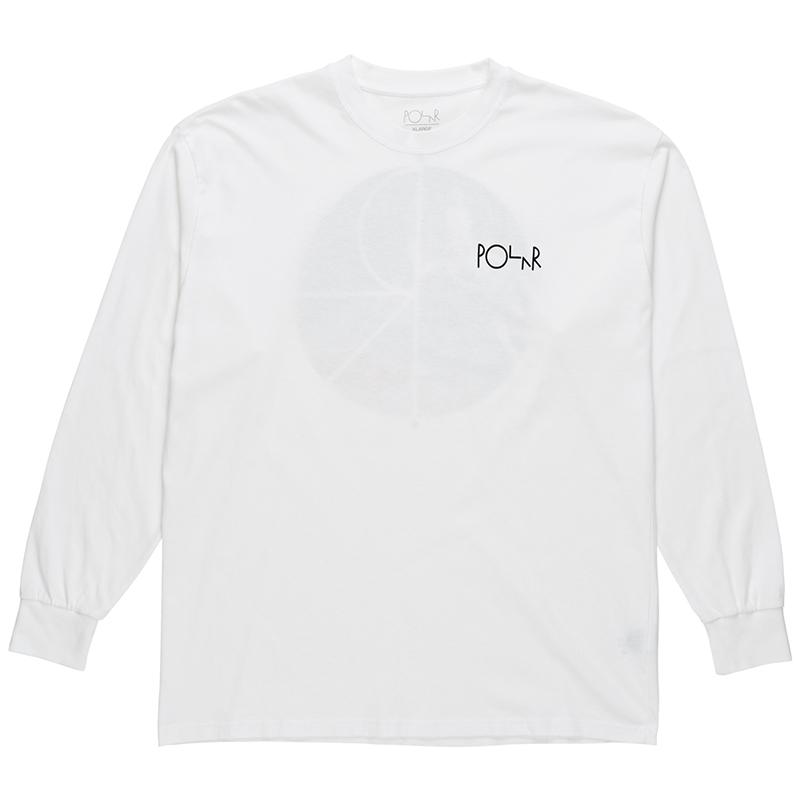 Polar Lambo Life Fill Logo Longsleeve T-Shirt White