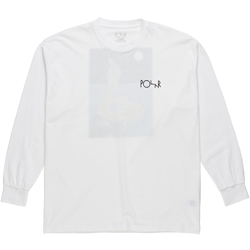 Polar Midnight Snake Longsleeve T-Shirt White