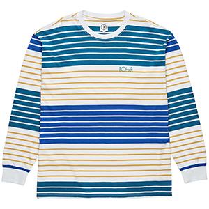 Polar Multi Colour Longsleeve T-Shirt White/Yellow