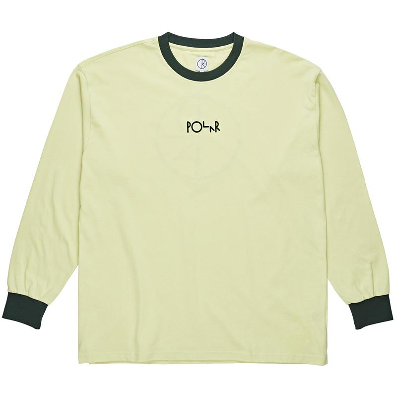 Polar Offside Longsleeve T-Shirt Seafoam Green/Dark Green