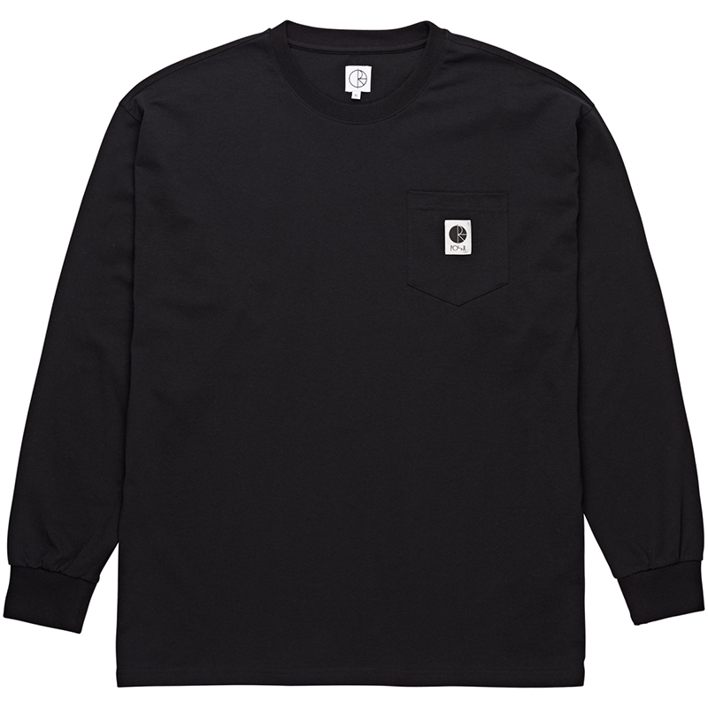 Polar Pocket Longsleeve T-Shirt Black