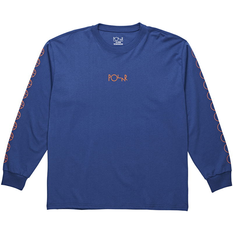 Polar Racing Longsleeve T-Shirt 80's Blue